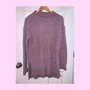 Merokeety Lavender High Low Sweater Size M